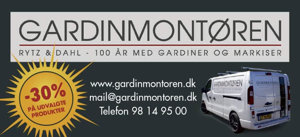 Ring og bestil gardiner ved Gardinmontøren Aalborg
